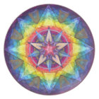 Joy Mandala Art Plate