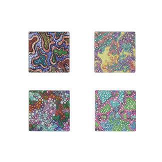 Joy of Autism Stone Magnets
