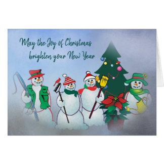 Joy of Christmas card 201r