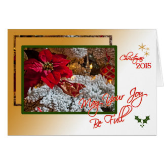 Joy of Christmas Greeting Card