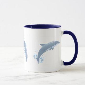 joy of dolphins mug