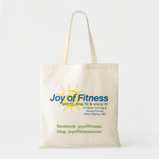 Joy of Fitness Reusable Bag
