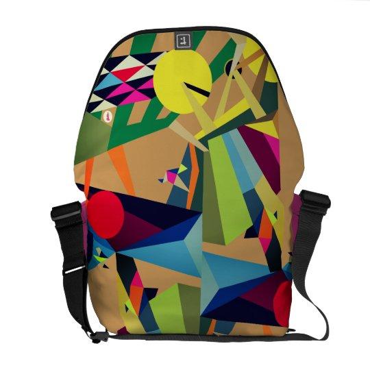 Joy of Life Unique Design by Raluca Nedelcu Courier Bag