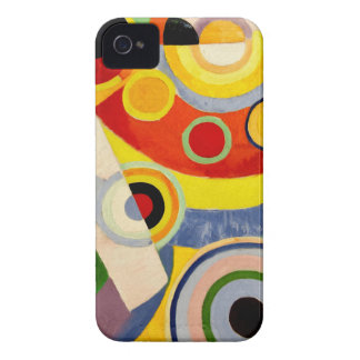 Joy of Life - Vintage Art by Robert Delaunay iPhone 4 Case