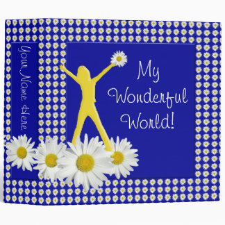 Joy of Living Daisies 2 inch Binder