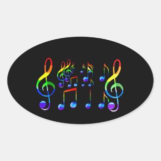 Joy Of Music Lives_ Oval Sticker