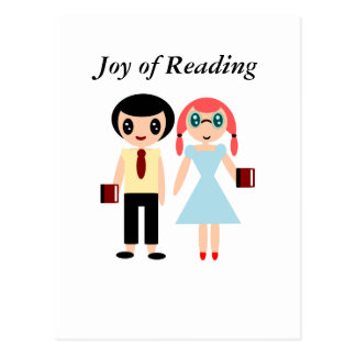 Joy of Reading Postcard