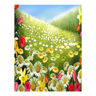 Joy Of Spring Letterhead
