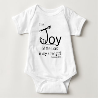 JOY of the Lord Baby Bodysuit