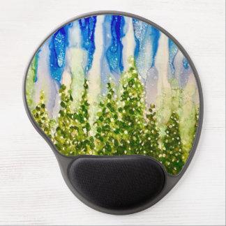 Joy - Original alcohol ink design Gel Mouse Pad