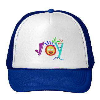 Joy-- our natural state trucker hat