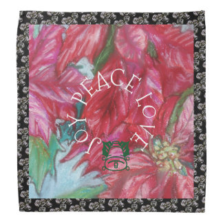 Joy Peace Love Holiday Kerchiefs