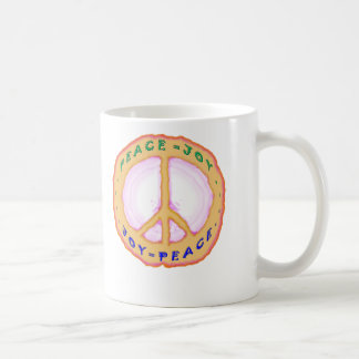 JOY = PEACE MUG