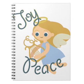 Joy & Peace Spiral Note Books