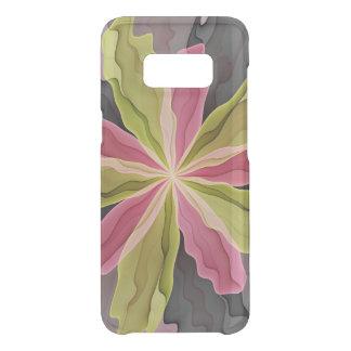 Joy, Pink Green Anthracite Fantasy Flower Fractal Uncommon Samsung Galaxy S8 Case
