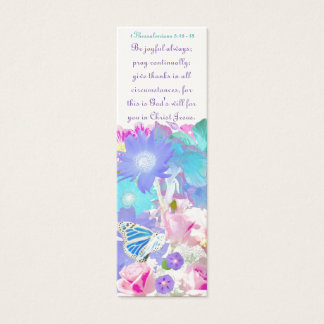 Joy, Prayer and Thanksgiving  Bookmark Mini Business Card