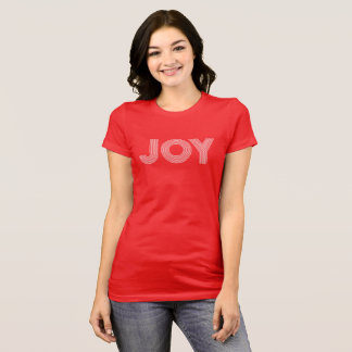 JOY | Red Holiday T-Shirt
