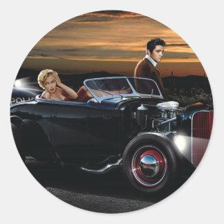 Joy Ride Classic Round Sticker