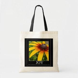 Joy Rumi Motivational Flower Bag