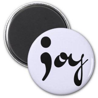 Joy Semicolon Magnet