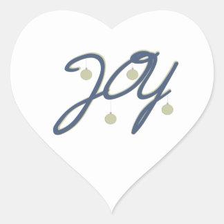 Joy Heart Sticker
