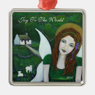 Joy To The World Angel Ornament