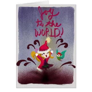 Joy To The World! - Blank Greeting Card