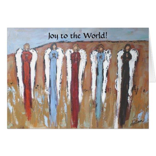 Joy to the World! card