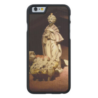 Joy To The World Carved Maple iPhone 6 Case