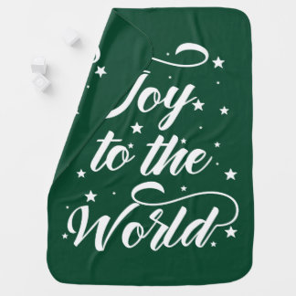 joy to the world Christmas Baby Blanket
