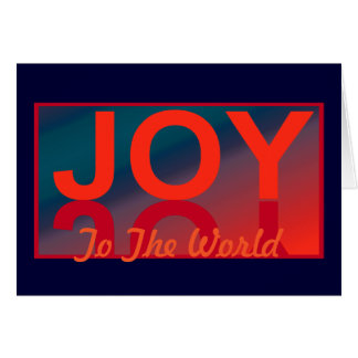 JOY to the World Christmas Card for Anyone