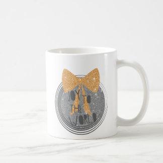 Joy To The World Christmas hymn Coffee Mug