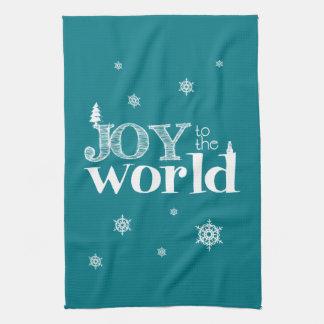 Joy To The World Christmas Kitchen Towel