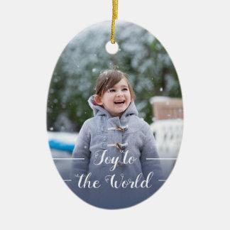 Joy to the World - Christmas Ornament