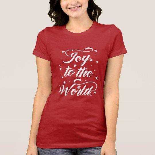 joy to the world Christmas T-Shirt