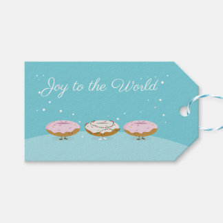 Joy to the World Donuts   Gift Tag