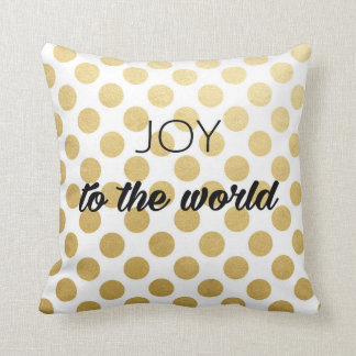 Joy to the world holiday Pillow