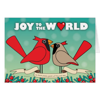Joy to the World II Card