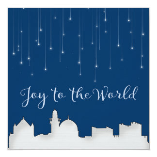 Joy to the World Jerusalem Card