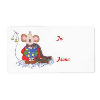 Joy to the World Shipping Label