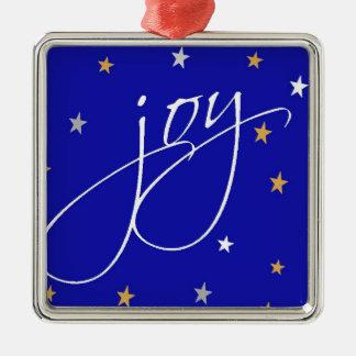 Joy to the World Metal Ornament