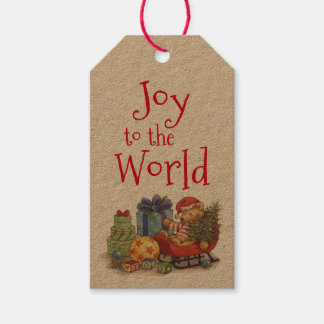 Joy to the World Pack Of Gift Tags