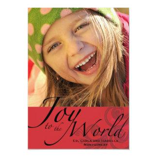 Joy to the World - Photo Holiday Card