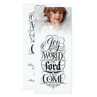 Joy to the World Religious Christian Christmas Card