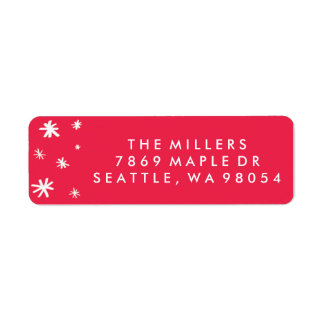 Joy to the World Return Address Labels