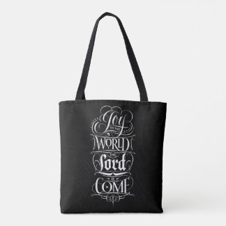 Joy to the World the Lord is Come Christmas Tote Bag