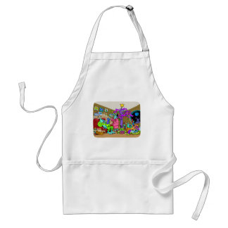 Joy to the worlds! standard apron