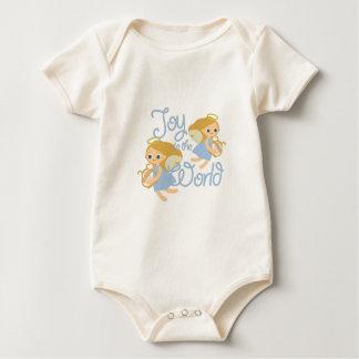 Joy To World Baby Bodysuit