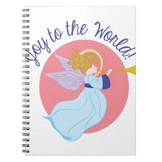 Joy To World Spiral Note Book