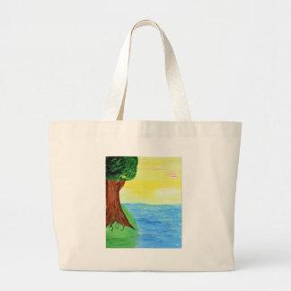 Joy Tree Large Tote Bag